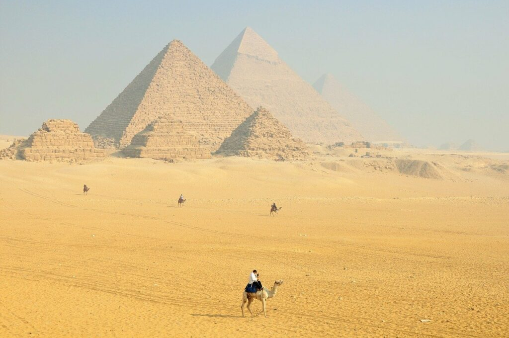 magnificent pyramids