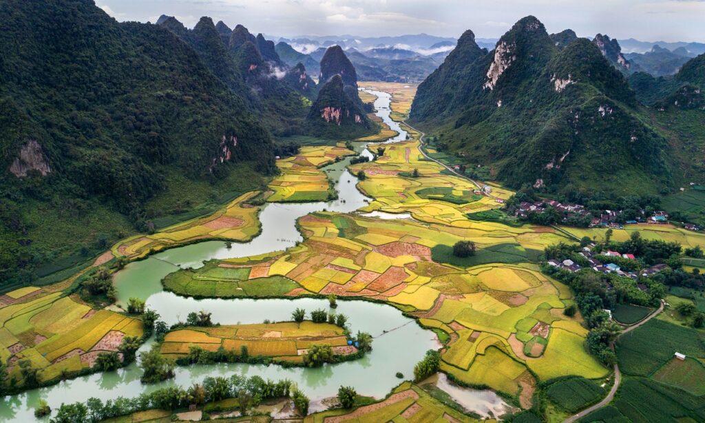 mountainous regions of Vietnam